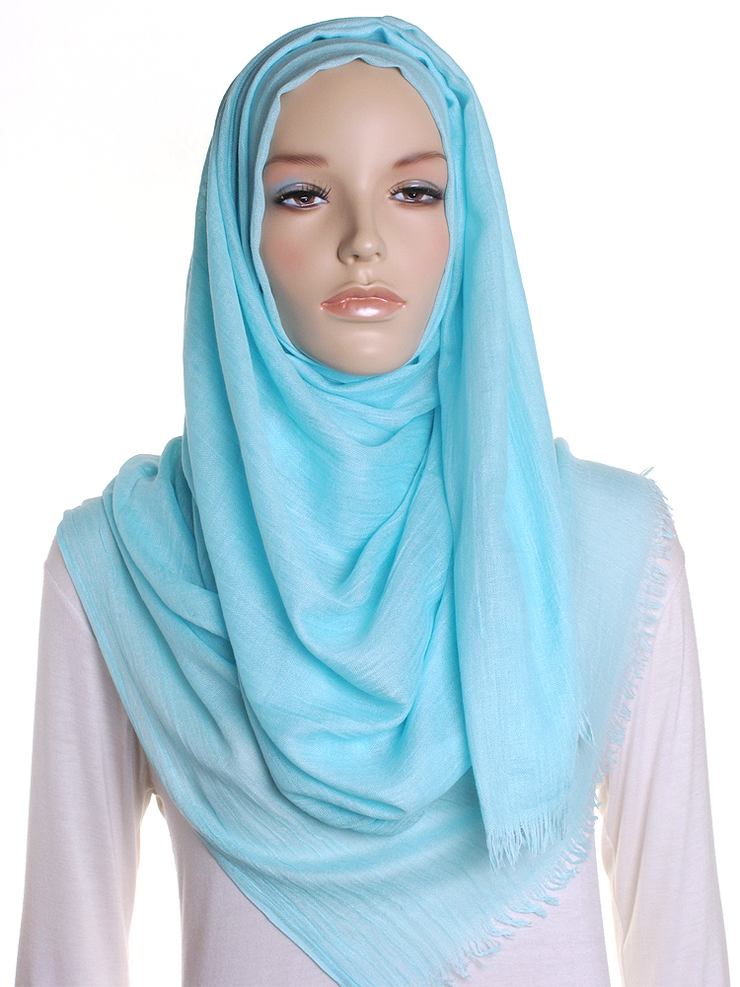 Pale Turquoise Extra Large Hijab - Hijab Store Online