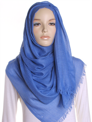 Periwinkle Extra Large Hijab - Hijab Store Online