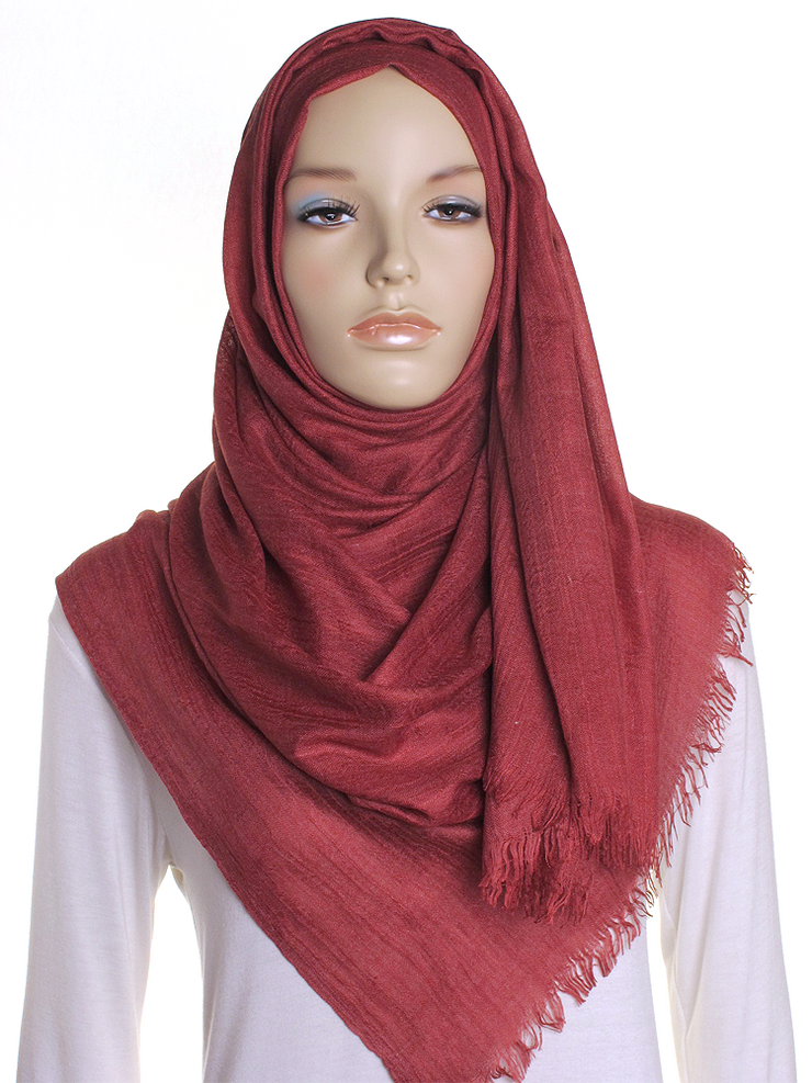 Ruby Red Extra Large Hijab - Hijab Store Online