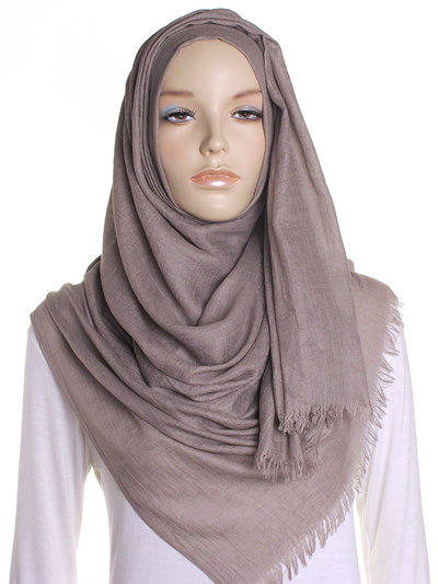 Taupe Extra Large Hijab - Hijab Store Online
