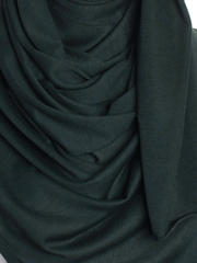 Dark Green Plain Jersey Hijab