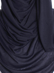 Midnight Sky Plain Jersey Hijab