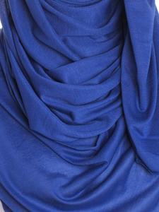 Royal Blue Plain Jersey Hijab