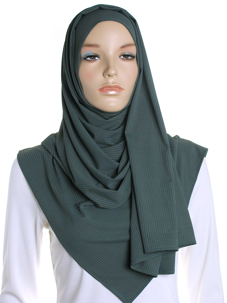 Eden Ribbed Jersey Hijab
