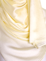 Pastel Yellow Shimmer Hijab - Hijab Store Online