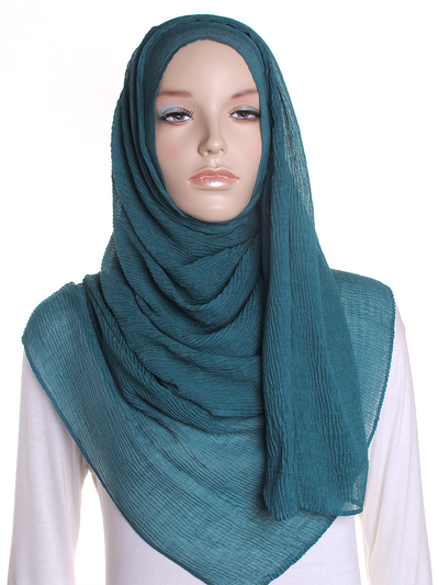 Jade Straight Pleated Hijab - Hijab Store Online