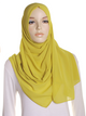 Light Olive Chiffon Hijab