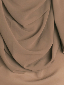 Light Rustic Brown Chiffon Hijab