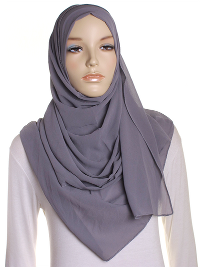 Morning Fog Chiffon Hijab