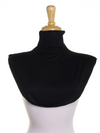 Black Jersey Full Neck Cover