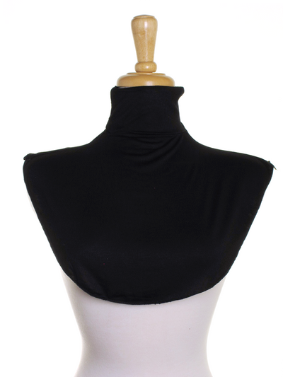 Black Jersey Full Neck Cover - Hijab Store Online