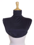 Navy Blue Jersey Full Neck Cover