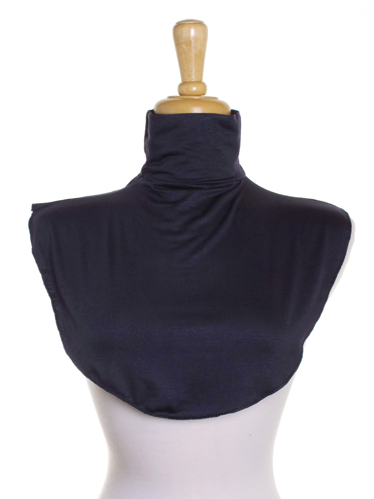 Navy Blue Jersey Full Neck Cover - Hijab Store Online