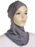 Grey Criss Cross Ninja Underscarf
