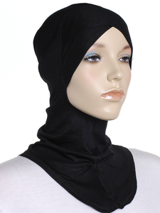 Black Criss Cross Ninja Underscarf