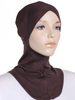 Chicory Brown Criss Cross Ninja Underscarf - Hijab Store Online