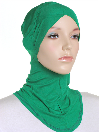 Holly Green Criss Cross Ninja Underscarf - Hijab Store Online