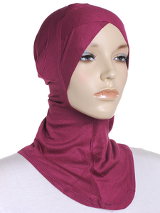 Purple Magenta Criss Cross Ninja Underscarf