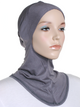 Dark Grey Plain Ninja Underscarf