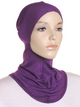 Purple Plain Ninja Underscarf