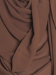 Safari Brown Chiffon Hijab