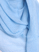 Sky Blue Pleated Crinkle Hijab
