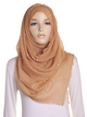 Honey Pearl Beaded Crinkle Hijab