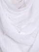 White Pearl Beaded Crinkle Hijab - Hijab Store Online