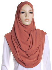 Redwood Square Chiffon Hijab
