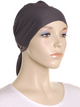 Meteorite Grey Plain Tie Back Bonnet