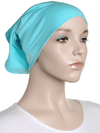 Arctic Green Plain Cotton Tube Underscarf