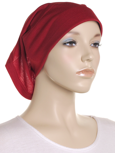 Biking Red Arc Shaped Underscarf - Hijab Store Online
