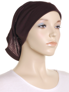Chicory Brown Arc Shaped Underscarf - Hijab Store Online