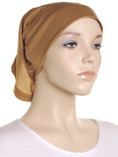 Dull Gold Arc Shaped Underscarf - Hijab Store Online
