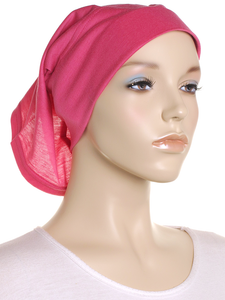 Hot Pink Arc Shaped Underscarf