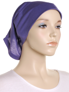 Purple Arc Shaped Underscarf