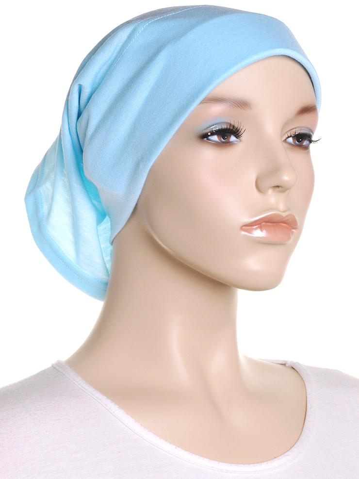 Sky Blue Arc Shaped Underscarf - Hijab Store Online