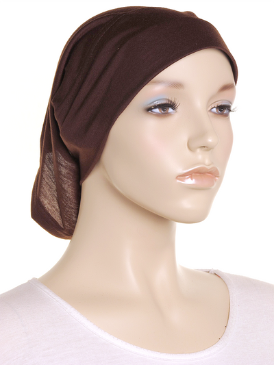Brown Arc Shaped Underscarf - Hijab Store Online