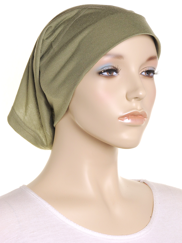 Light Khaki Arc Shaped Underscarf - Hijab Store Online