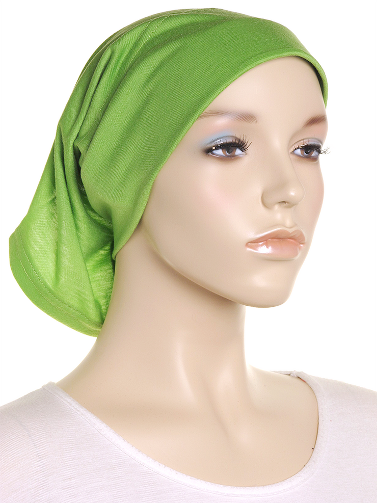 Shamrock Green Arc Shaped Underscarf - Hijab Store Online