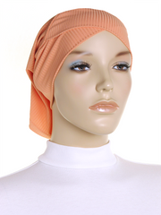 Coral Sands Criss Cross Ribbed Underscarf