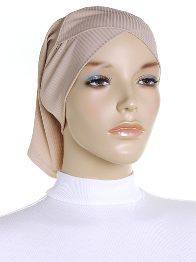 Stone Criss Cross Ribbed Underscarf