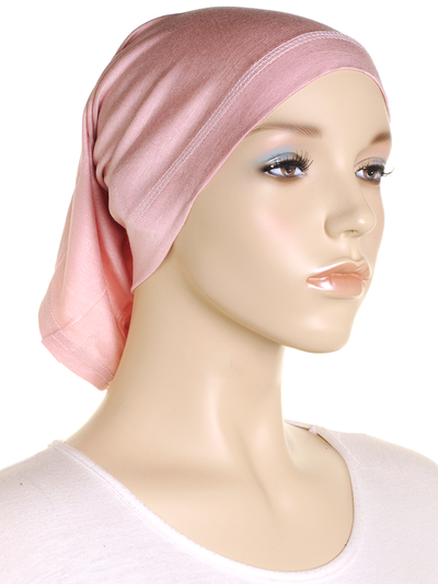Blush Pink Stretch Tube Underscarf - Hijab Store Online