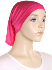 Hot Pink Stretch Tube Underscarf - Hijab Store Online