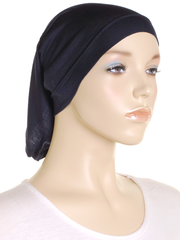 Navy Stretch Tube Underscarf - Hijab Store Online