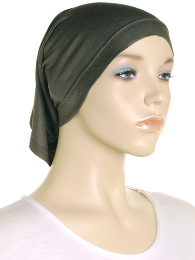 Olive Stretch Tube Underscarf - Hijab Store Online