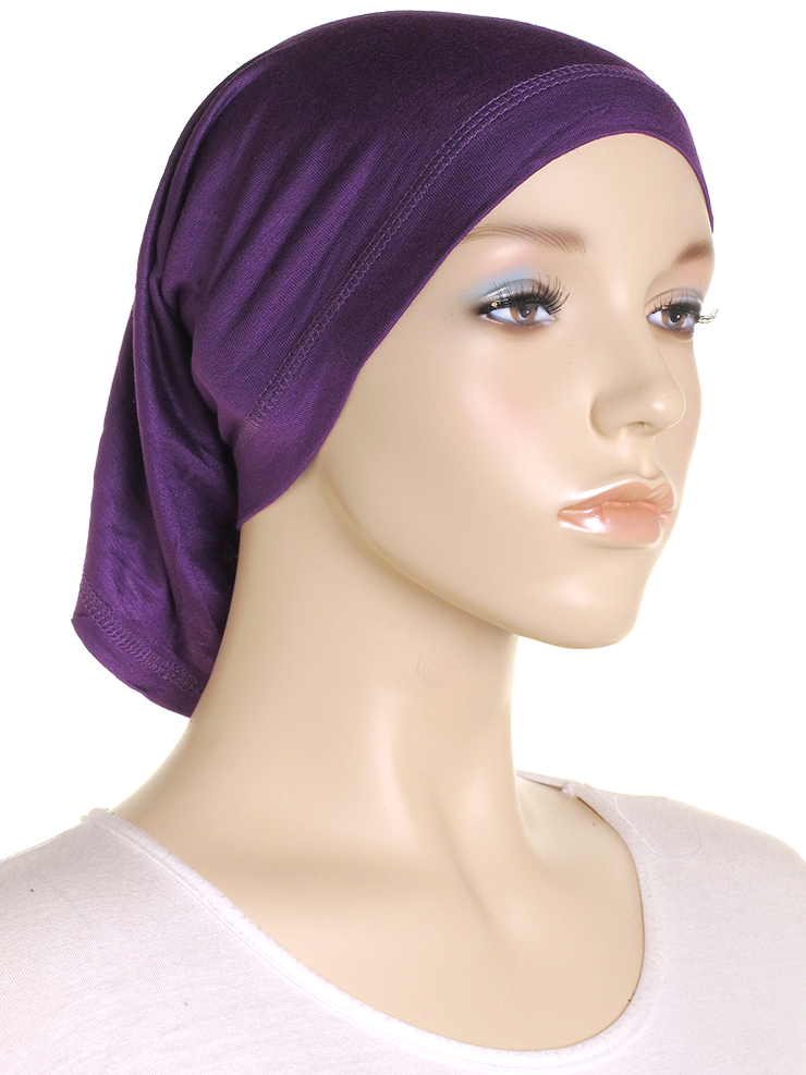 Purple Stretch Tube Underscarf - Hijab Store Online