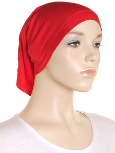 Red Stretch Tube Underscarf