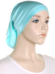 Egg Blue Stretch Tube Underscarf