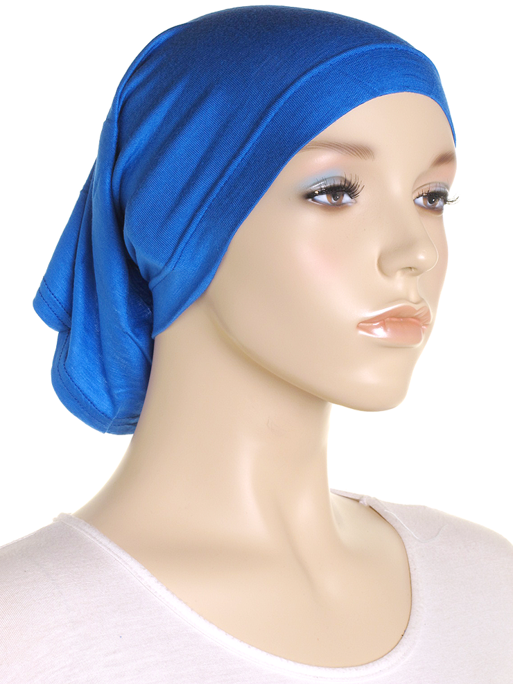Royal Blue Stretch Tube Underscarf - Hijab Store Online